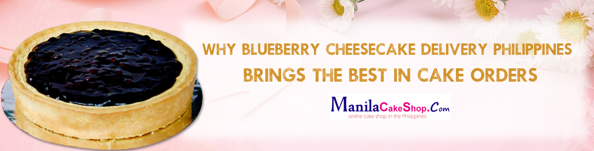 online blueberry cheesecake delivery to manila philippines