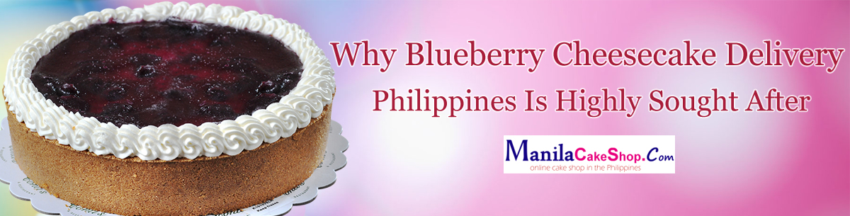 online blueberry cheesecake delivery to philippines