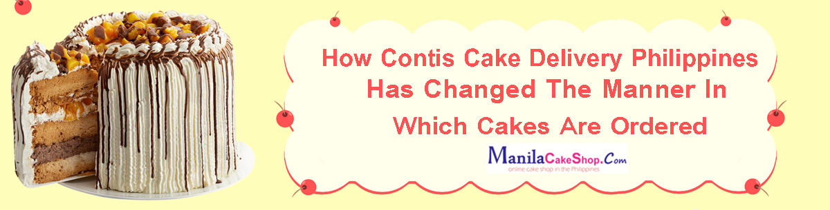 online contis cake delivery to manila philippines