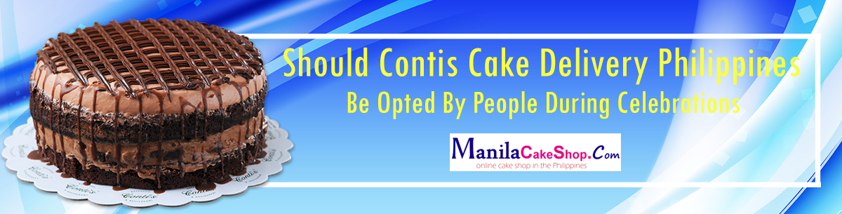 online delivery contis cake to manila philippines