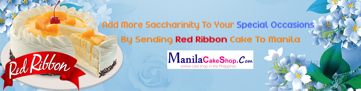 send red ribbon cake online to manila philippines