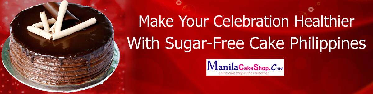 online delivery sugar-free cake to manila philippines