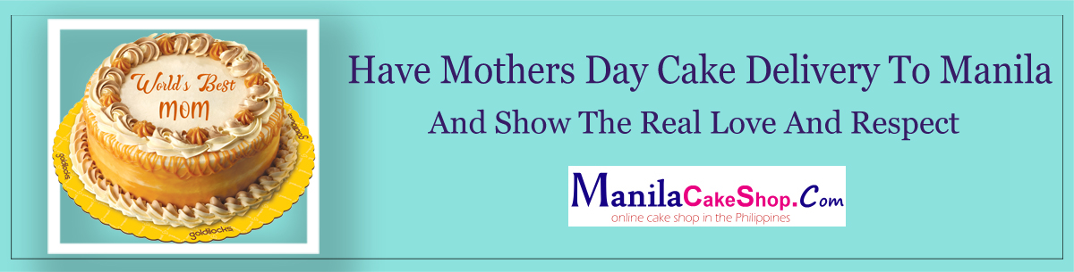 online mothers day cake delivery to manila philippines