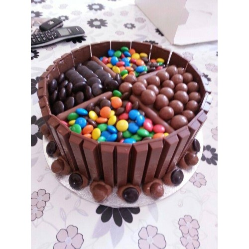 Maltesers Chocolate Cake by Wilmas Yummy cake Online Order to