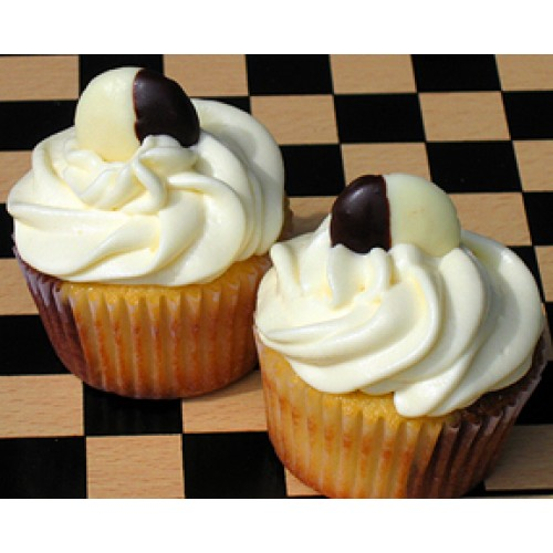 Ebony And Ivory Cupcakes By Cookie Blossoms Online Order To Manila Philippines