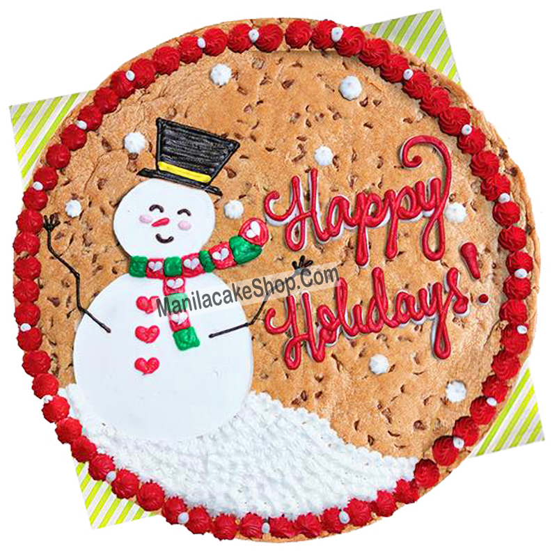 Holiday Big Cookie Cake By Mrs Fields
