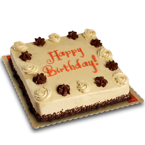 Admirable Mocha Dedication Cake Junior By Red Ribbon Delivery To Manila Funny Birthday Cards Online Inifofree Goldxyz