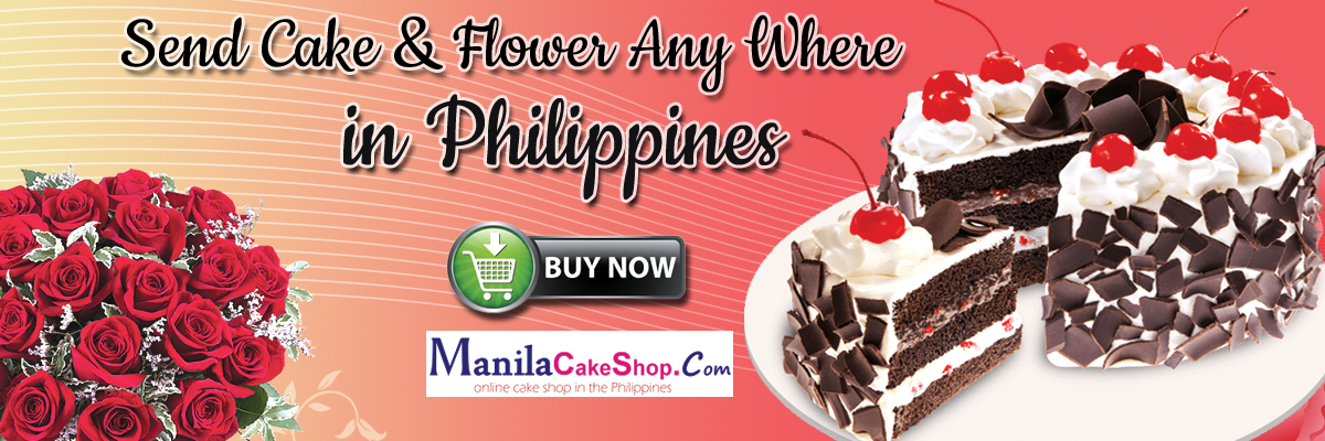 send cake and flower any where in philippines