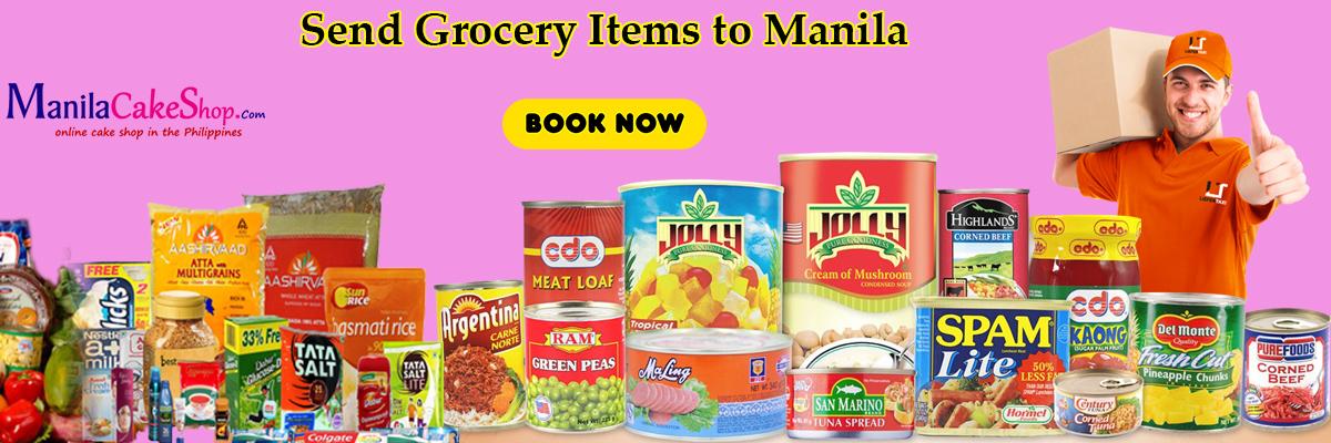 send grocery item to manila philippines