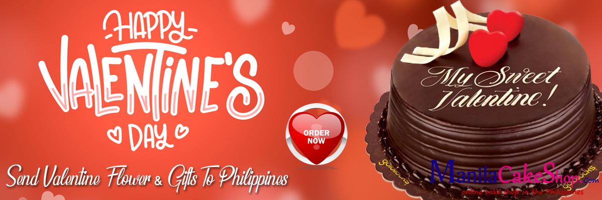 send valentines day cake to manila philippines