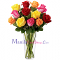 buy long stem roses to manila
