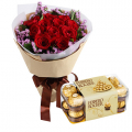 Send Birthday Flower with Chocolate Gifts to Manila