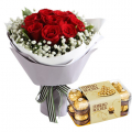 Send Flower with Cakes to Manila Only; Order Flower with Cake Online to Manila