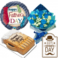 Send Fathers Day Flower with Cake and Balloon to Manila