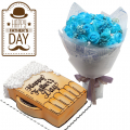 Send Fathers Day Flower with Cake to Manila