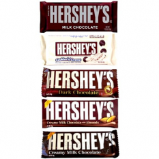 Hershey's Chocolate  5 Assorted Bars  Send to Philippines