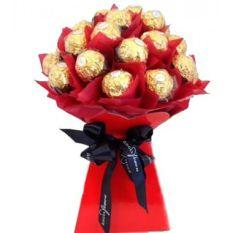 12pcs Ferrero Rocher in Bouquet to Philippines