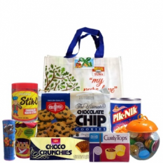 Christmas Basket - Groceries Chocolate Chips Package