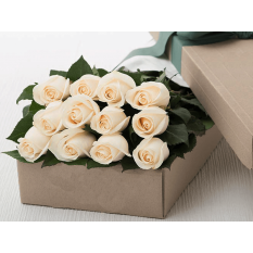 buy long stem white roses box to manila