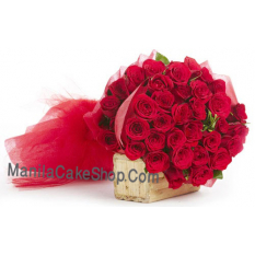 36 red roses bouquet to manila philippines