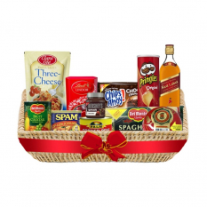 Christmas Basket - Yuletide Reward Deluxe Basket