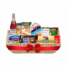 Christmas Basket - Delightful Christmas Deluxe Basket