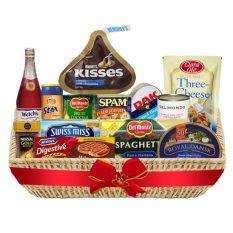 Christmas Basket - Christmas Feast Deluxe Basket