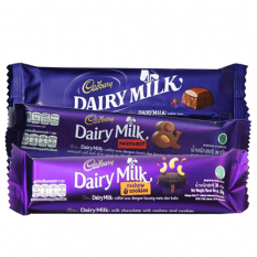 3 sssorted mini bars 30g each by cadbury to philippines