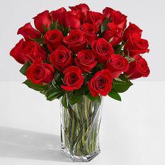 36 red rose in vase to manila