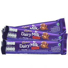 send cadbury fruit and nut 3 bars 30g. each to philippines