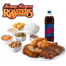 Online Rib and Chicken Platter Group Meal to Manila