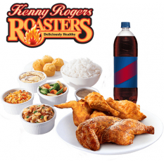Roasted and OMG Unfried Fried Chicken Group Meal Online to Manila
