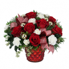 send santa baby flower arrangement to manila