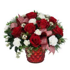 send santa baby flower arrangement to manila
