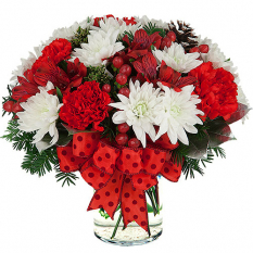 send holiday floral arrangement to manila