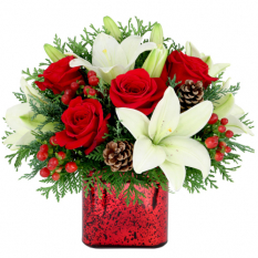 send all i want for xmas arrangement to manila