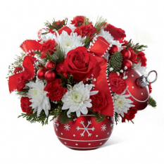 send ornament christmas bouquet to manila