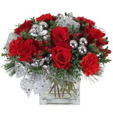 send visions of sugarplums arrangement to manila