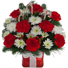 send wishes for xmas arrangement to manila