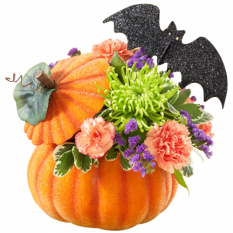send pumpkin flower arrangement to philippines