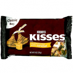 send hersheys kisses caramel milk chocolate 311g. to philippines