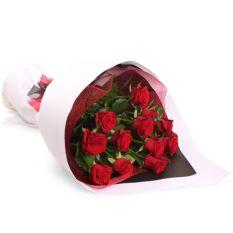 send 12 pcs. red ecuadorian roses in bouquet to manila