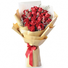 send 2 dozen red ecuadorian roses bouquet to manila