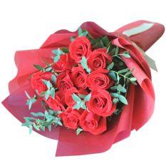 send eternal love (1 dozen ecuadorian roses) to manila