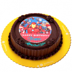 Avengers Birthday Greeting Cake By Goldilocks