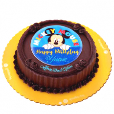 Mickey Birthday Greeting Cake by Goldilocks