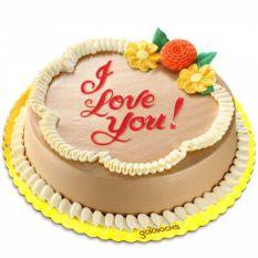 Classic Mocha Chiffon Cake By Goldilocks Send to Manila Philippines
