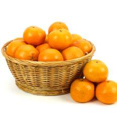 Full of Fresh Orange Basket