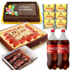 Goldilocks Food Package 1 (Serves 10)