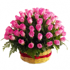 buy 36 pink roses get basket free to manila philippines